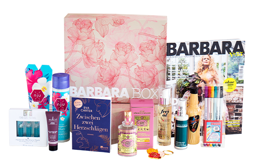 Produkte in der BARBARA BOX Nr. 2/2021 - Just bloom